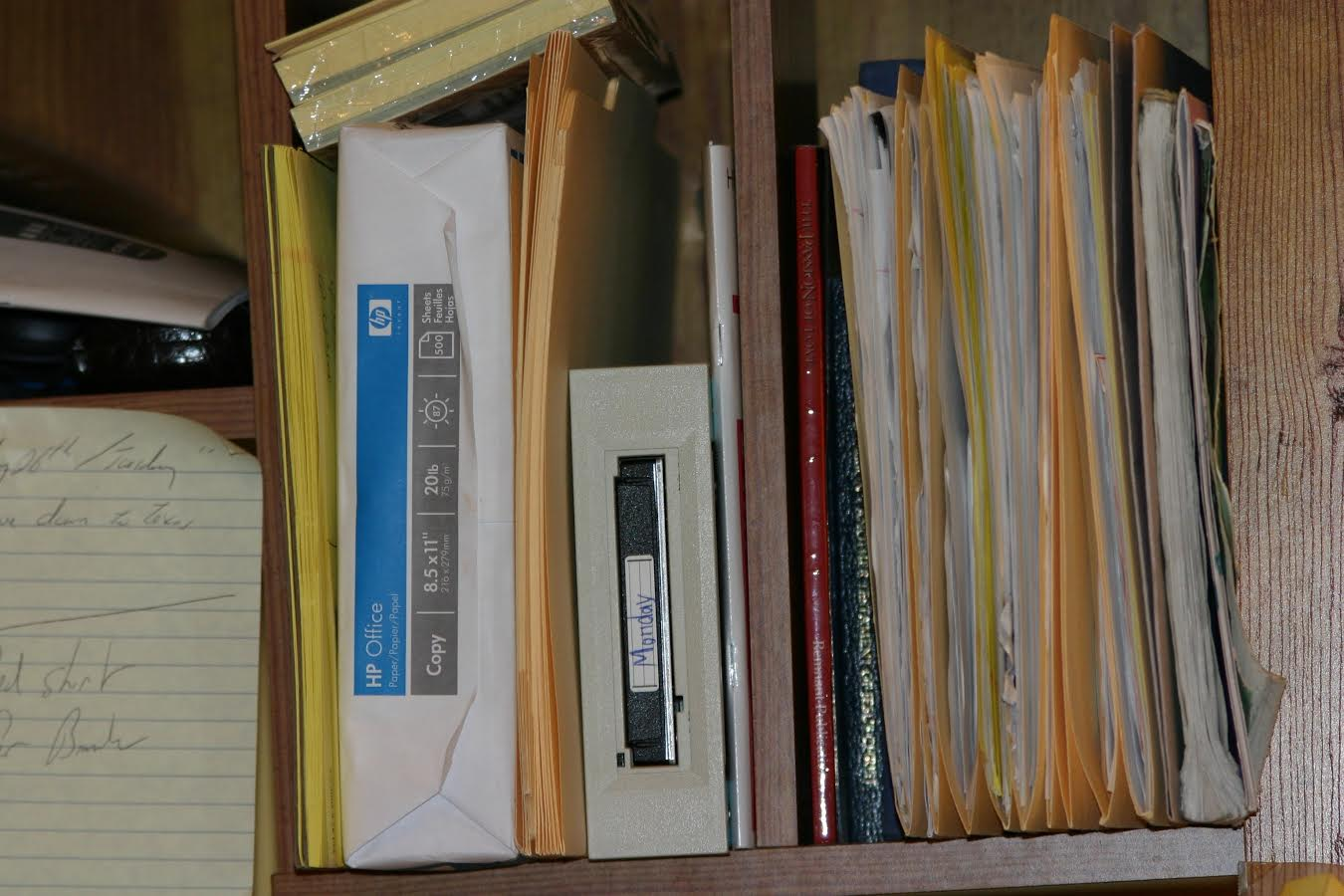 Image of documents related to responding to discovery--it can be miserable, but you gotta do it.